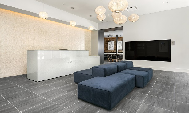 South Loop Apartment Lobby