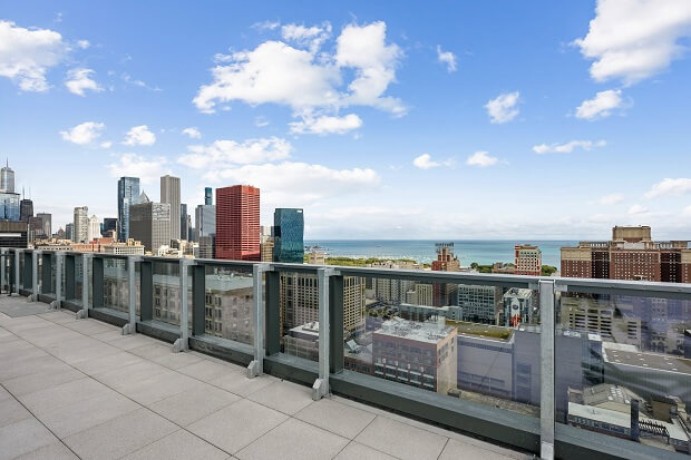 South Loop Apartments View