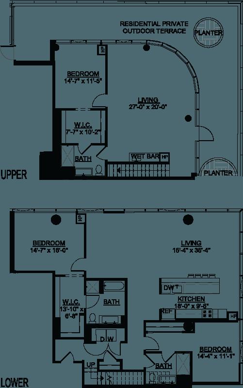 Three Bedroom PH B Terrace