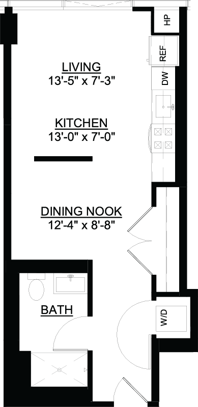 Convertible GC floor plan