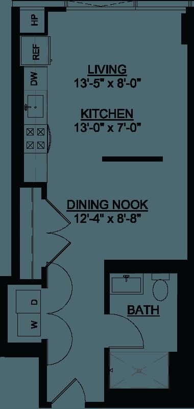 Convertible HC floor plan