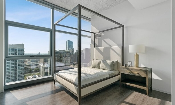 Chicago Penthouse-Bedroom