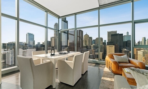Chicago Penthouse-Dining