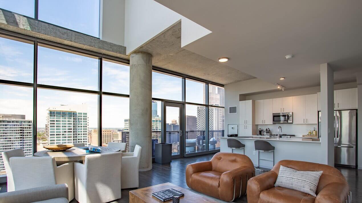 Imprint Apartments-Penthouse-South Loop Apartment