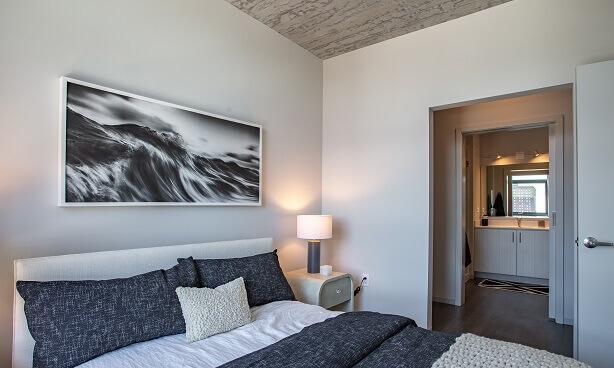 South Loop Apartment Bedroom